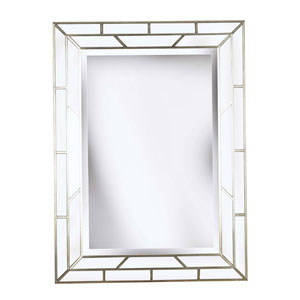 Lens Silver Wall Mirror
