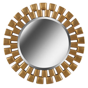Gilbert Gold 36-Inch  Wall Mirror