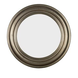 Nob Hill Antique Silver Wall Mirror