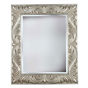 Antoinette Antique Silver Wall Mirror