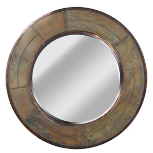 Keene Natural Slate Wall Mirror