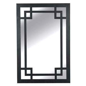 Jacob Dark Bronze Wall Mirror
