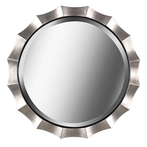 Chorale Antique Silver Wall Mirror