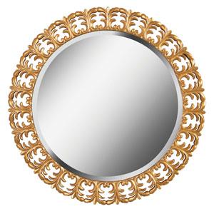 Bontemps Umbre Gold Wall Mirror