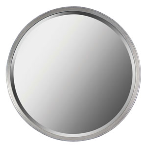 Hoop Silver Wall Mirror