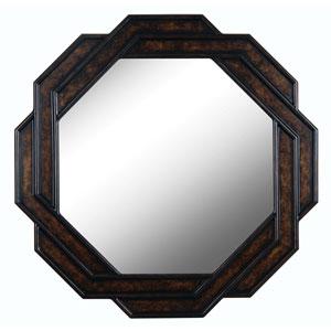 Interchange Dark Brown Wall Mirror