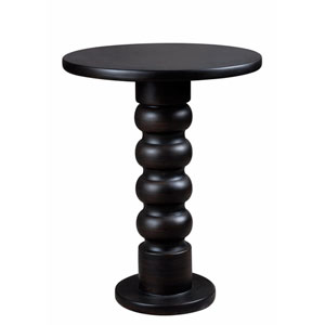 Chimney Satin Bronze  Accent Table