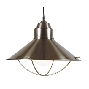 Brushed Steel Harbour Pendant