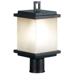 Plateau Oil Rubbed Bronze Energy Star Outdoor Post Light