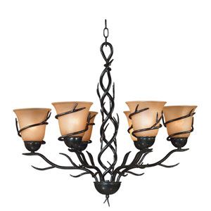 Twigs Six-Light Chandelier