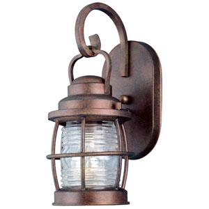 Beacon Gilded Copper Small Outdoor Wall Mounted Lantern