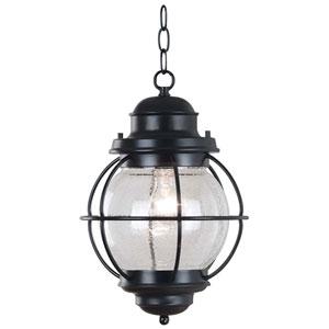 Hatteras Black Outdoor Hanging Lantern