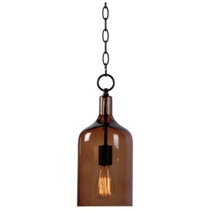 Capri Oil Rubbed Bronze Single Light Mini Pendant