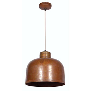 Chambers Rust One-Light Pendant