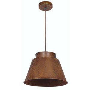 Metal smith Rust One-Light Pendant