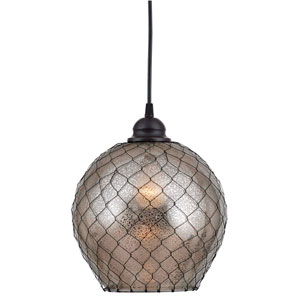 Nillo Oil Rubbed Bronze Single Light Pendant