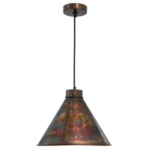 Cuprum Flamed Copper One-Light Pendant