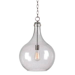 Rhone Brushed Steel One-Light Pendant