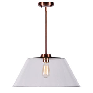 Nancy Copper One-Light Pendant