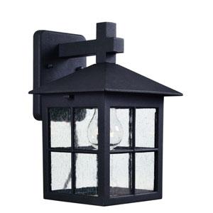 Greene Black One-Light Outdoor Wall Lantern