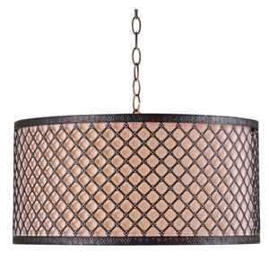 Hawthorn Oil Rubbed Bronze Three-Light Pendant