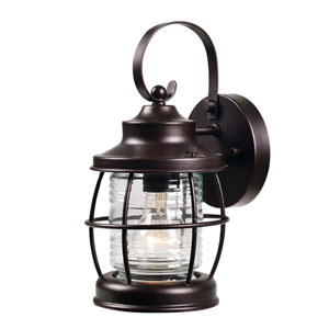 Sidelight Oil Rubbed Bronze One-Light  Outdoor Wall Lantern