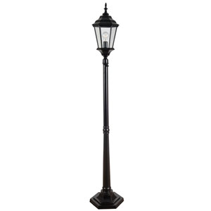 Villa Oil Rubbed Bronze One-Light Portable Post Lantern