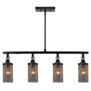 Chloe Oil Rubbed Bronze Four-Light Island Pendant
