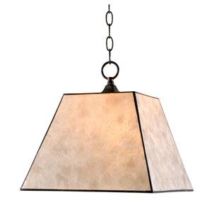 Capell Bronze One-Light Pendant