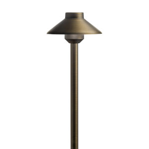 Centennial Brass 23-Inch 3000K LED Stepped Dome Path Light