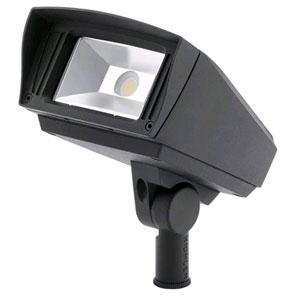 Landscape LED Textured Black Six-Inch One-Light LED Landscape Light