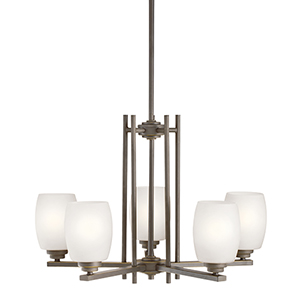 Eileen Olde Bronze Five-Light Energy Star LED Chandelier