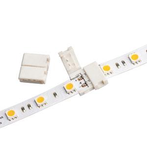 White LED Tape Light Inline Splice