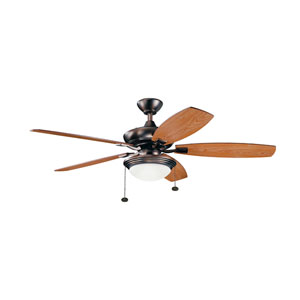 Canfield Select Oil Brushed Bronze LED Ceiling Fan