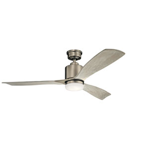 Ridley II Antique Pewter LED Ceiling Fan