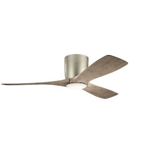 Volos Brushed Nickel 48-Inch LED Ceiling Fan