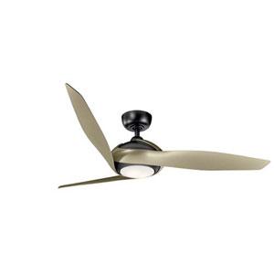 Zenith Satin Black LED 60-Inch Ceiling Fan