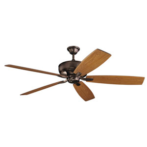 Monarch Oil Brushed Bronze Ceiling Fan