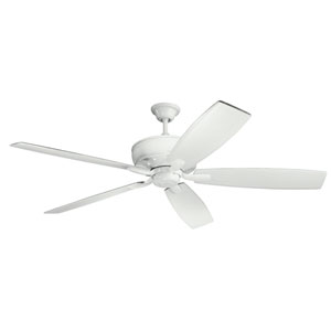 Monarch White Ceiling Fan