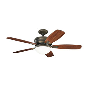 Carlson Oiled Bronze LED Ceiling Fan