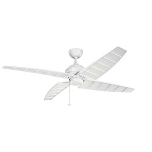 Surrey Matte White 60-Inch Ceiling Fan