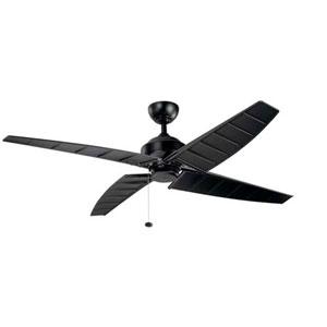 Surrey Satin Black 60-Inch Ceiling Fan