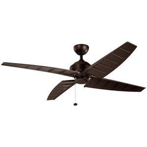 Surrey Satin Natural Bronze 60-Inch Ceiling Fan