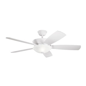 Skye White LED Ceiling Fan