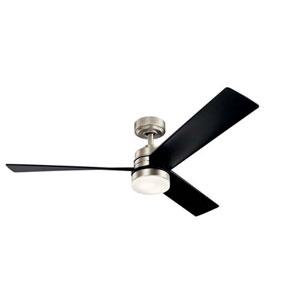 Spyn Brushed Nickel LED 52-Inch Ceiling Fan