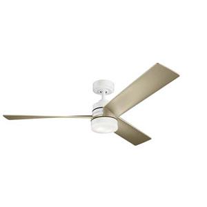 Spyn White LED 52-Inch Ceiling Fan
