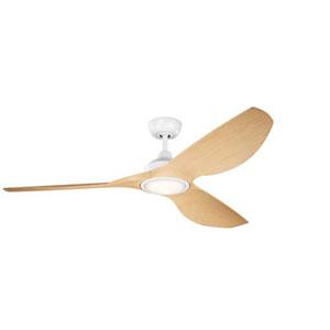 Imari Matte White LED 65-Inch Ceiling Fan