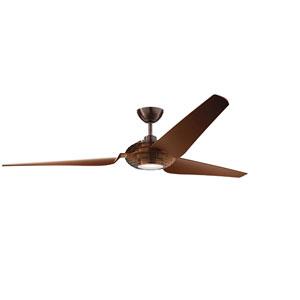 Voya Oil Brushed Bronze 84-Inch LED Ceiling Fan