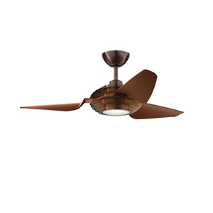 Voya Oil Brushed Bronze 50-Inch LED Ceiling Fan