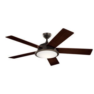 Verdi Olde Bronze 56-Inch Integrated LED Ceiling Fan